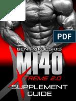 MI40-X - Supplement Guide