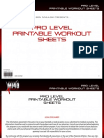 MI40-X - Workout Sheets - 3. 'Pro' (Advanced)