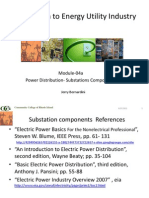 Elements of Substation