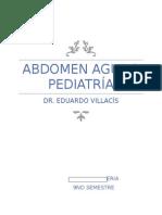 Abdomen Agudo Pediatría