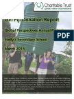 GVI Fiji Donation Report - Stelly's School 2015