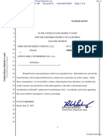 Ford Motor Credit Companym, LLC v. Lewis Family Enterprises, Inc. - Document No. 9