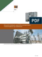 PROLEC Manual Transformador + Gabinetes MT BT