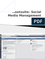 Hootsuite- Social Media Management