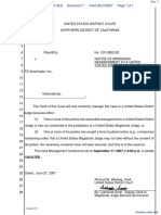 Elvey v. TD Ameritrade, Inc. - Document No. 7