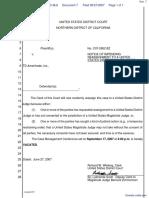 Elvey v. TD Ameritrade, Inc. - Document No. 7