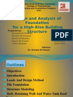 Design and Analysis of Foundations for a High-Rise Building
