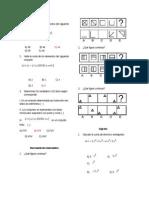 Preguntas Matematica 6 To