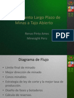 Planeamiento y Control de Producción en Operación del área de Minas