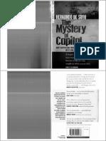 Hernando de Soto - The Mystery of Capital