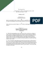 Danish Criminal Code 07052012