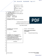 The Facebook, Inc. v. Connectu, LLC et al - Document No. 98