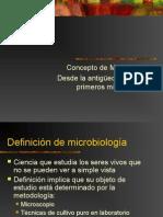 Historia de Micro