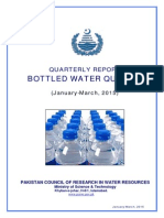 Bottled Water Jan-March 2015