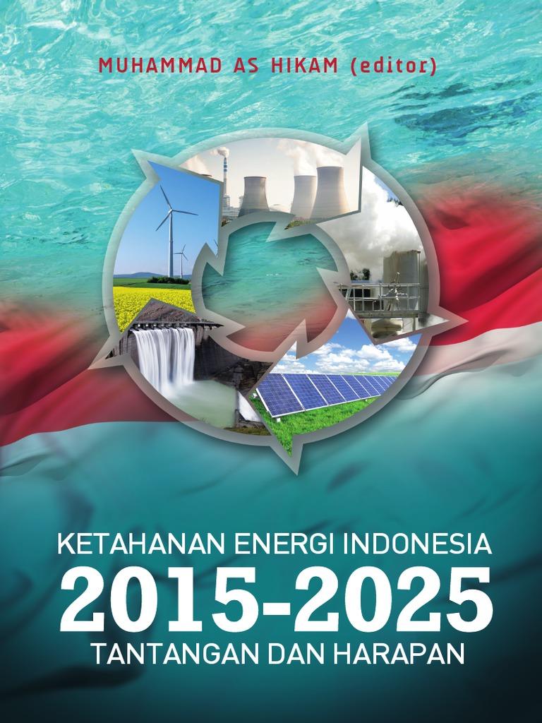 Ketahanan Energi Indonesia 2015 2025 Tantangan Dan Harapan Regulator Kompor Gas Dengan Metersniaman Awet Efisien