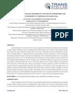 12. Agri Sci - IJASR - Effect of Land Levelling - Machendranath S