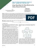 Secure Data Sharing Algorithm for Data Retrieval In Military Based Networks