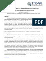 4. Edu Sci - Ijesr - Behavioural Skills Acquisition - Dr. Bada Olatunji