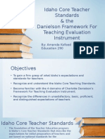 idaho core teaching standards- daneilson framework
