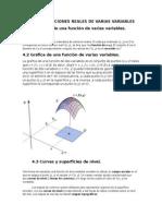 Unidad IV Funciones Reales de Varias Variables