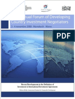 Int'l Investment Agreements