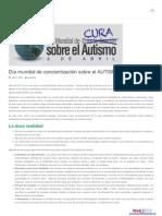 Dia internacional de concientización sobre el autismo