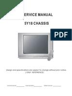 Chasis 5Y18 - FSCQ1265RT_LA76933_LA78041_LA42352_BSC23-N0120 Hitachi CDH-29GFS12