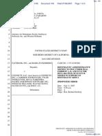 The Facebook, Inc. v. Connectu, LLC et al - Document No. 104