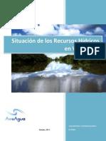 2011 Situacion Recursos Hidricos Venezuela