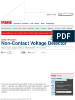Non-Contact Voltage Detector _ MAKE