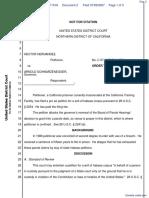 Hernandez v. Schwarzenegger - Document No. 2