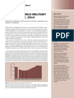 Trends in World Military Expenditure 2014