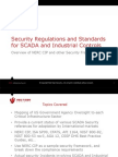 Security Regulations and Standards for SCADA and Industrial Controls