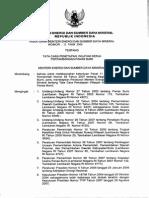 Permen-esdm-11-2008 Tata Cara Survey Pendahuluan