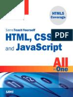 HTML,Css and Javascript Sams