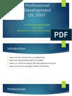 Professional Development Presentation