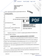 Levi Strauss & Co v. Polo Ralph Lauren Corporation - Document No. 1