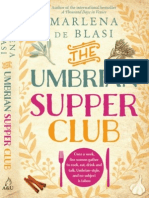 Umbrian Supper Club - Marlena de Blasi (Extract)