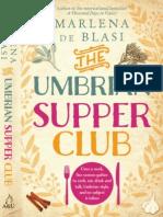 Umbrian Supper Club - Marlena de Blasi (Extract)