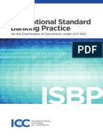 Icc International Standard Banking Practise