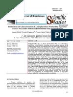 Purification and Characterization of Amyloglucosidase