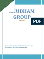 Shubham Group - Profile