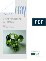 Vray Material Setting for 3Ds max