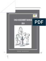 Pre - School Child Assessment Manual