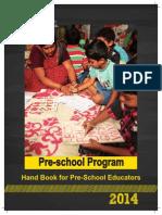 Handbook for Pre- School Educators