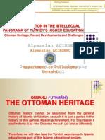 PresentatIslamic Education in the Intellectual Panorama of Turkey's Higher Educationion Alparslan