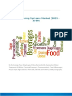 Global Dosing Systems Market (2015 – 2020) -Food and Beverage.docx