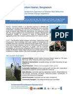 Factsheet- Bangladesh Resilient Habitat
