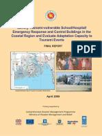 Identify Tsunami-Vulnerable School Hospital Emergency Response - 2009