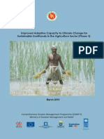 Improved Adaptive Capacity to Climate Change for Sustainable Livelihoods in the Agriculture Sector - 2010